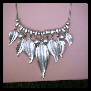Silver Color Fashion Necklace